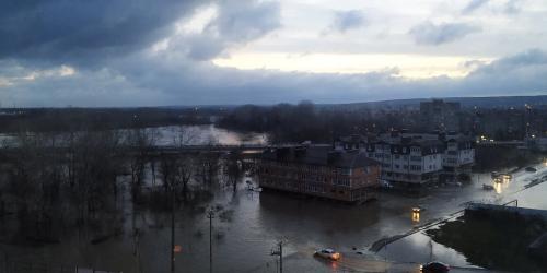 Карта затопления Краснодара. На Кубани после ливней подтопило 84 двора в Туапсинском районе и Горячем Ключе